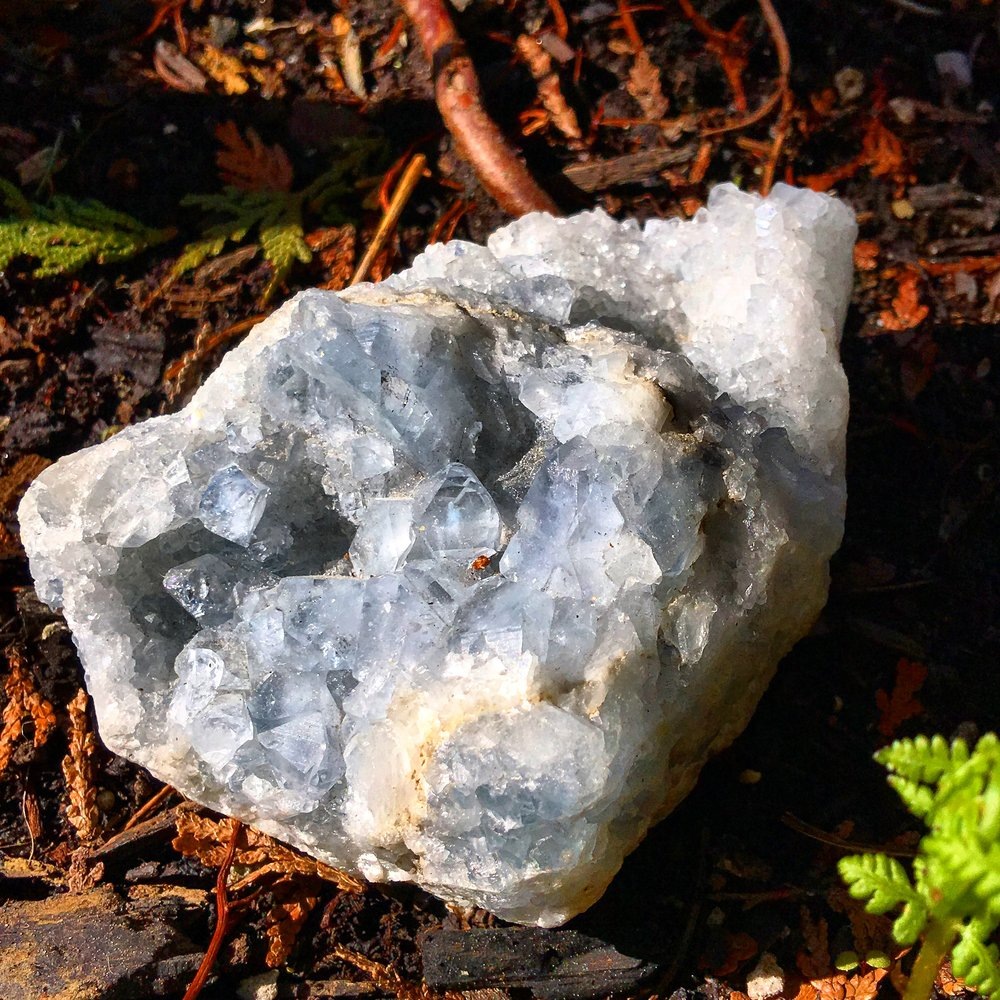 How to work with Celestite for Physical Health / krista-mitchell.com