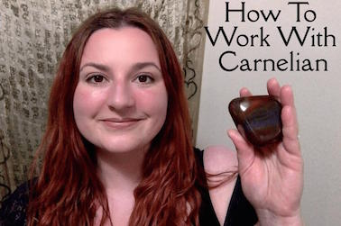 How To Work With Carnelian / krista-mitchell.com