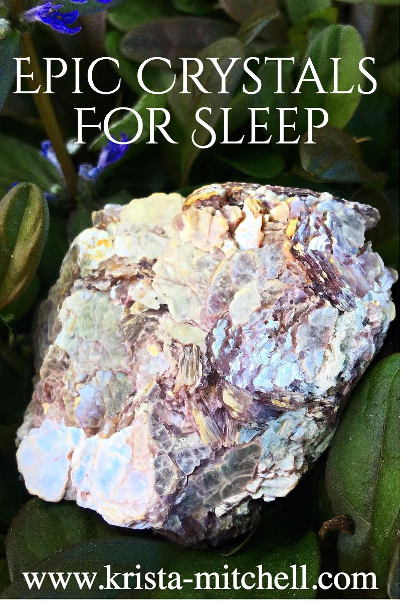 Everybody's always asking me for suggestions on crystals to help them sleep. Here's a few different suggestions based on different sleep issues.