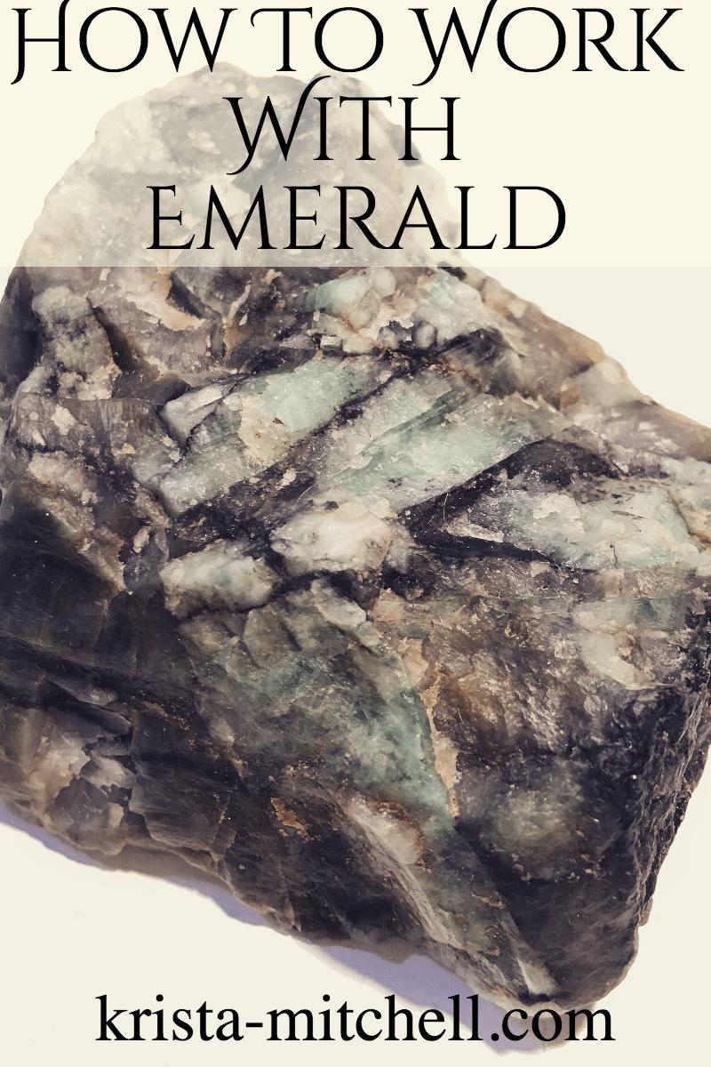 How To Work With Crystals: Emerald / krista-mitchell.com