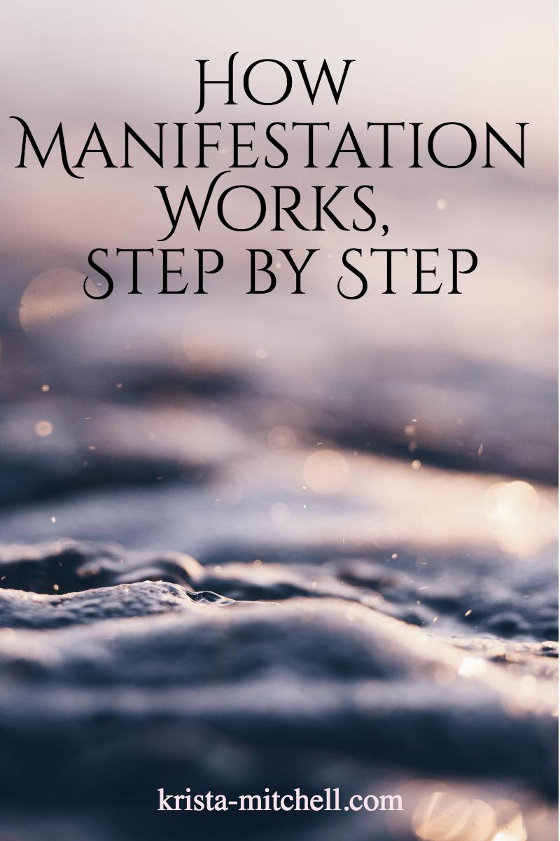 how manifestation works / krista-mitchell.com