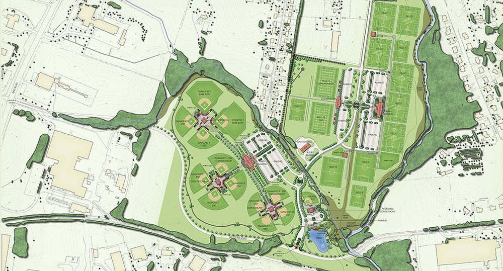 Revised Master Plan Elizabethtown Sports Park Hm