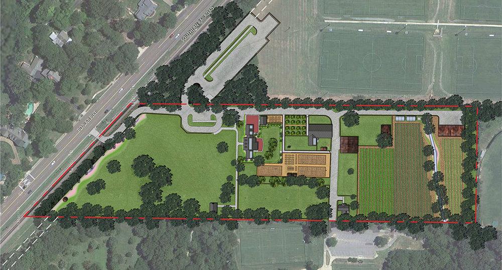 Lanier Farm Park Landscape Architecture Design Urban Planning Memphis Dalhoff Thomas