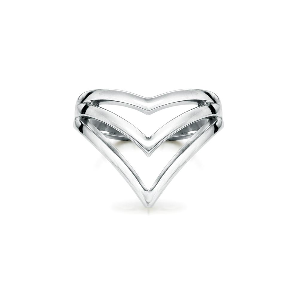 Vlada  -  10K Gold  |  925 Sterling silver   Midi Ring