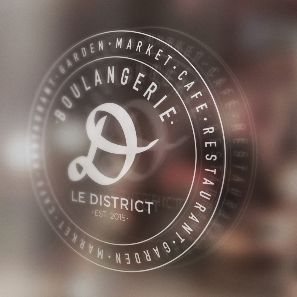 LE DISTRICT BRANDING