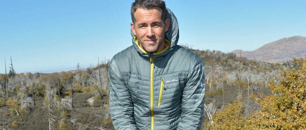 Charley Gallay/Getty Images for Eddie Bauer •  www.upworthy.com/people-are-hugging-trees-because-ryan-reynolds-asked-them-to-and-its-great