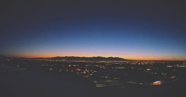 #utah #utahvalley #night #cityscape #nightscape #sunset