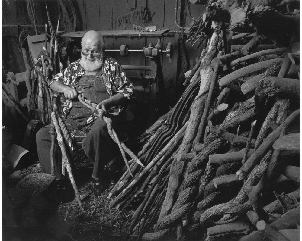 Ralph Gates handmade Appalachian brooms Tim Barnwell photographer
