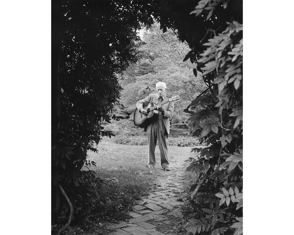 Appalachian music guitar Stanger Malone Warren Wilson College NC Tim Barnwell photographer