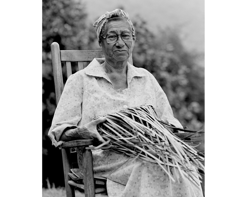 Eva Wolfe Cherokee basket maker Tim Barnwell Appalachia Photographer