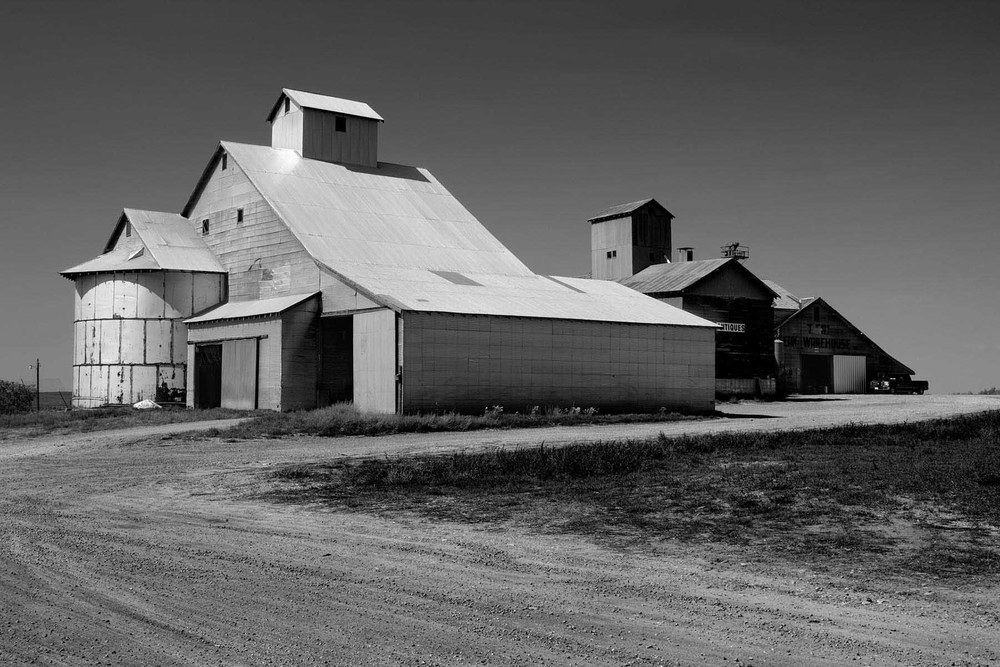Colorado mills black and white photograph Tim Barnwell photographer