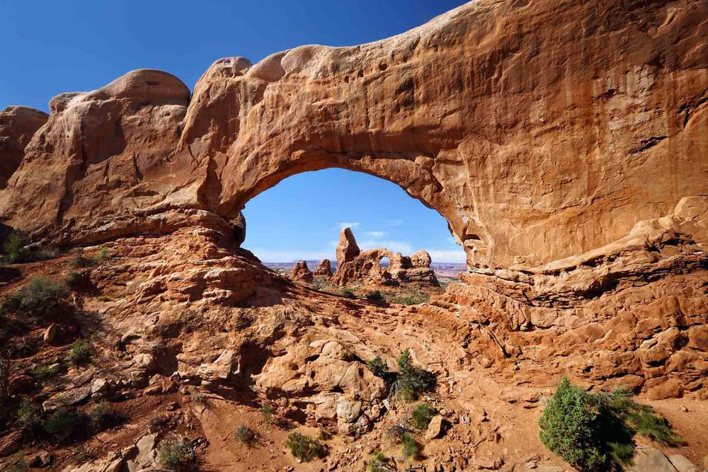 Window Arch Arches National Park Utah Tim Barnwell photographer