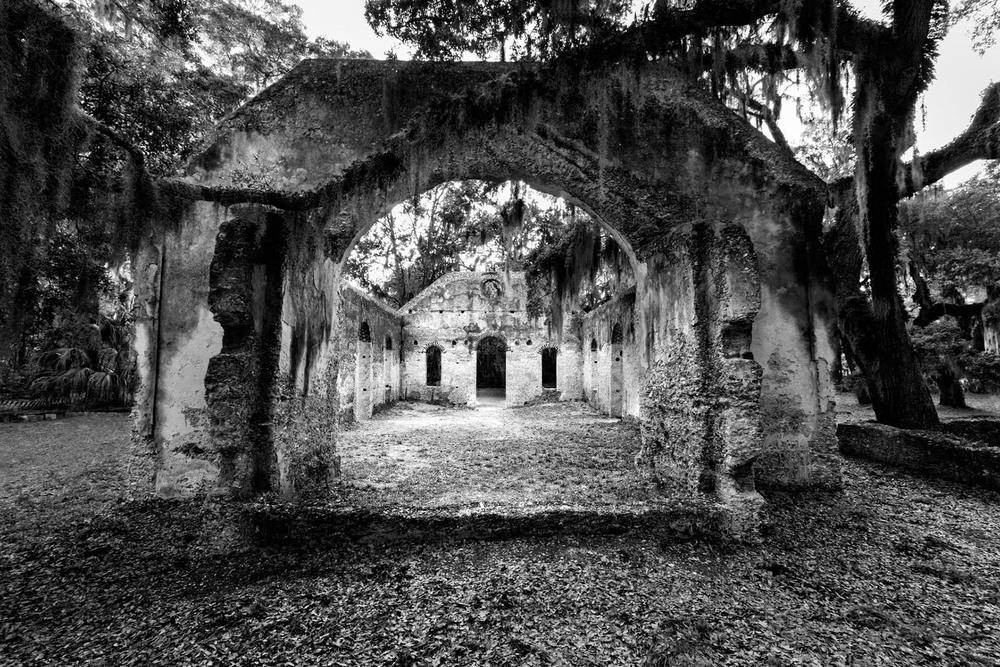 old church Saint Helena Island South Carolina Tim Barnwell photographer