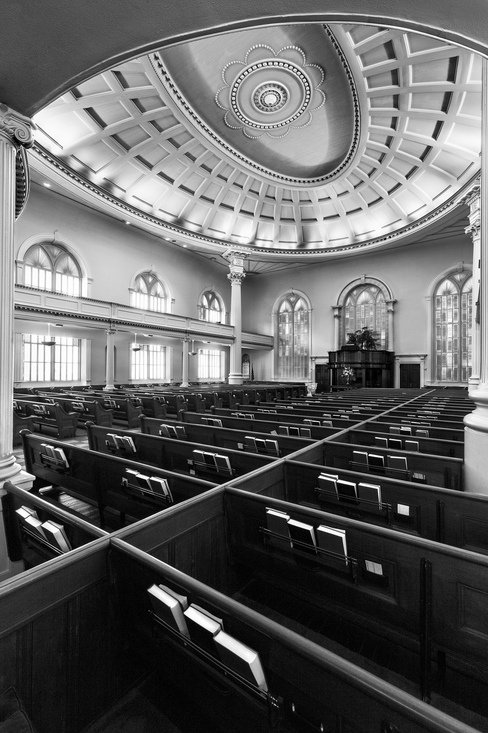 Independent Presbyterian Church interior Savannah GA Tim Barnwell photographer