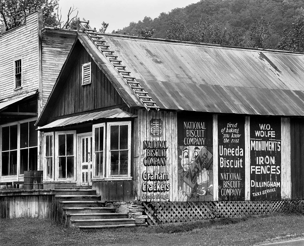 Plumtree NC store country old On Earth's Furrowed Brow, Tim Barnwell photography