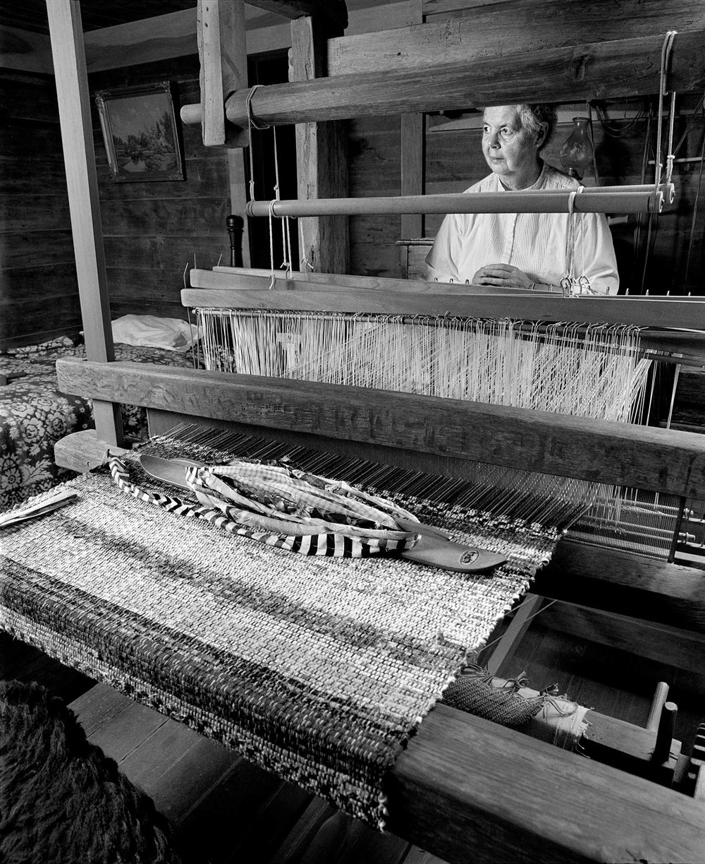 Barbara Miller weaving quilting Hands in HArmony Tim Barnwell photographer