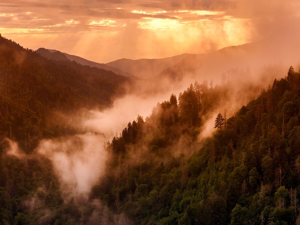 _MG_7178 Sunset from Morton overlook in Smokies by Barnwell homepage slideshow.jpg