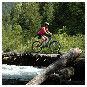 Biking / Touring BC's longest network of converted rail beds makes for an excellent mountain biking adventure. From the Slocan Valley Rail Trail, which winds through pastoral countryside to the Galena Trail which takes you over a river, the WKR is a two-wheeler's nirvana.