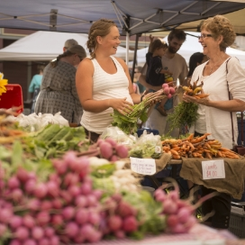 If homemade and homegrown is what you seek, you're sure to find it a one of the many local farmer's market's on the WKR.