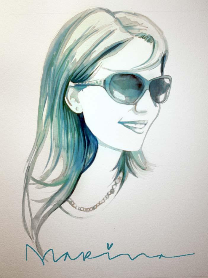 Aqua Girl.