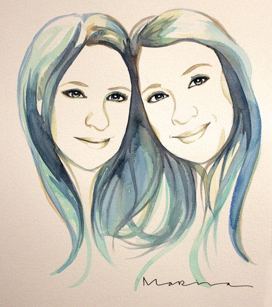 Sanja&Vanja- Blue