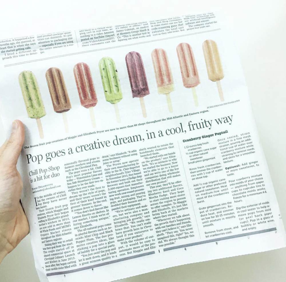 Pop goes a creative dream, in a cool, fruit way The Plain Dealer