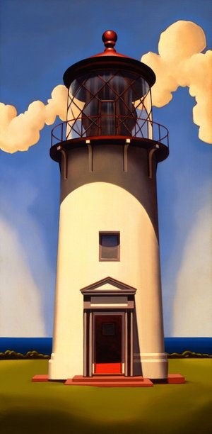 Lighthouse According To Fixed Rules Print Morton Court Publishing