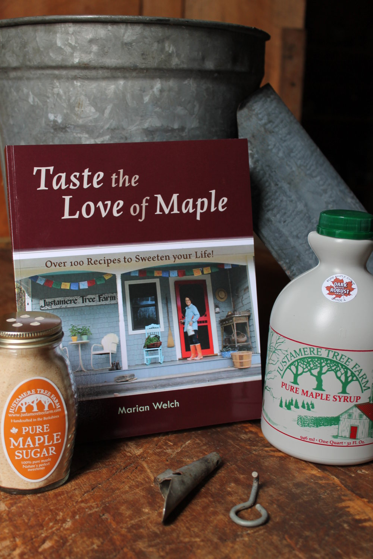 Taste the Love of Maple Cookbook!