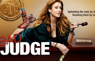 Bad Judge: Look, I don't wanna get all technical here, but if she's upholding the rules by day, doesn't that make her a good judge? Pretty sure judges only really work during the day. Unless she was on Night Court, I guess, but that'd be a pretty weird crossover considering that show's been off the air for twenty-two years. Ooh! Maybe she's a bad judge of cross-promotional opportunities?