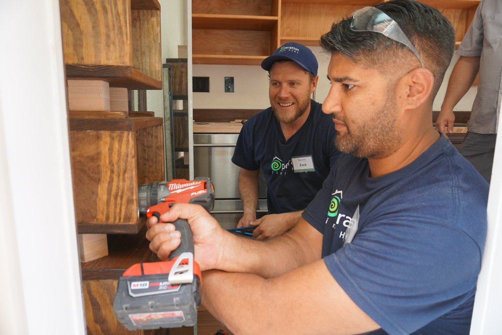 """Once a person has a good understanding of how homes are constructed and a command on the use of the tools required, they possess a valuable job skill set, and have created a pathway to one's own sustainable housing solution."" - Zack Giffin"