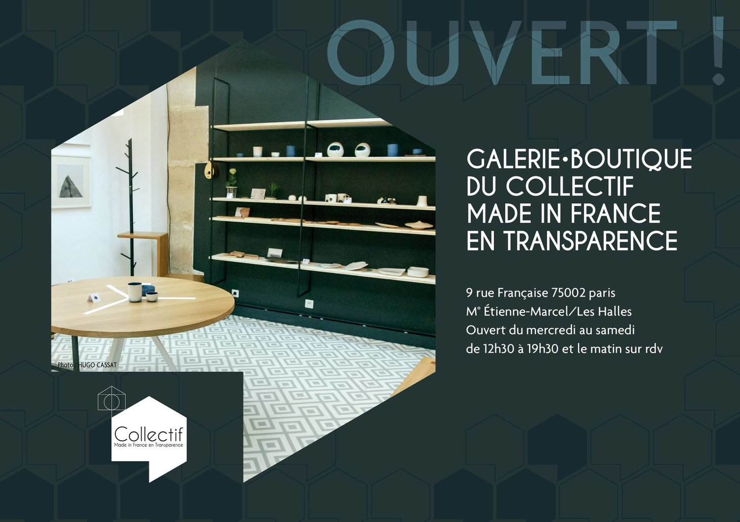 mathieu mizzon ⌂ — ouverture show room made in france saison ii
