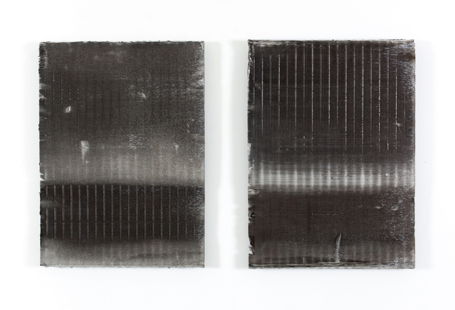 Untitled  2012 Aluminium filters 70 x 50cm each