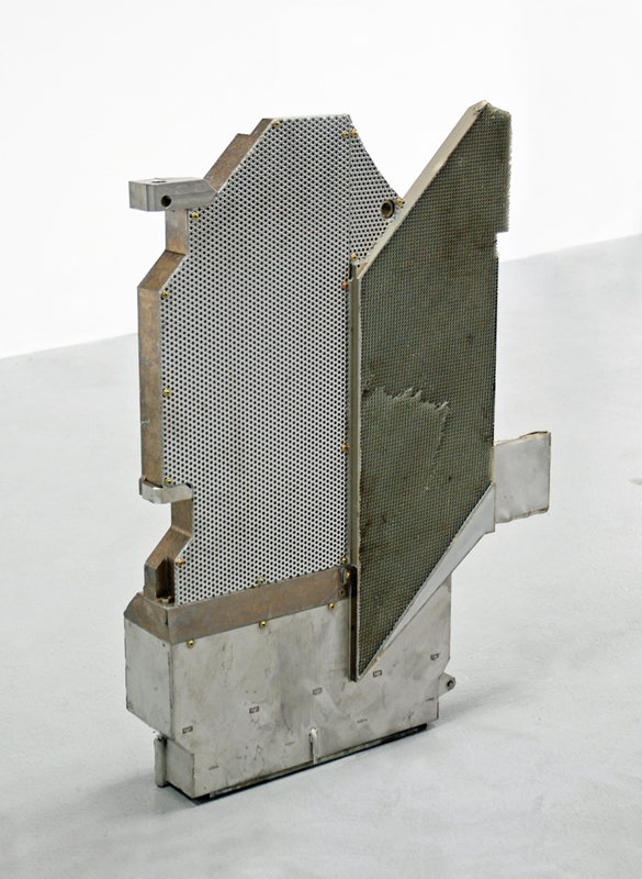 Untitled  2012 Industrial vacuum component 50 x 65 x 10cm