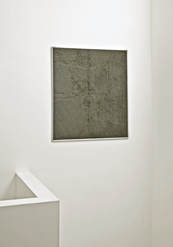 Untitled   2010 Foam panel, Aluminium 75 x 65cm