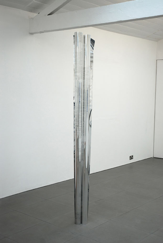 Untitled (NGC 4676; Arp 242)  2010 Mirrored Mylar 20 x 230cm