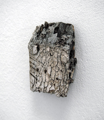 Untitled  2007 Wood, paint 8 x 5 x 1.5cm