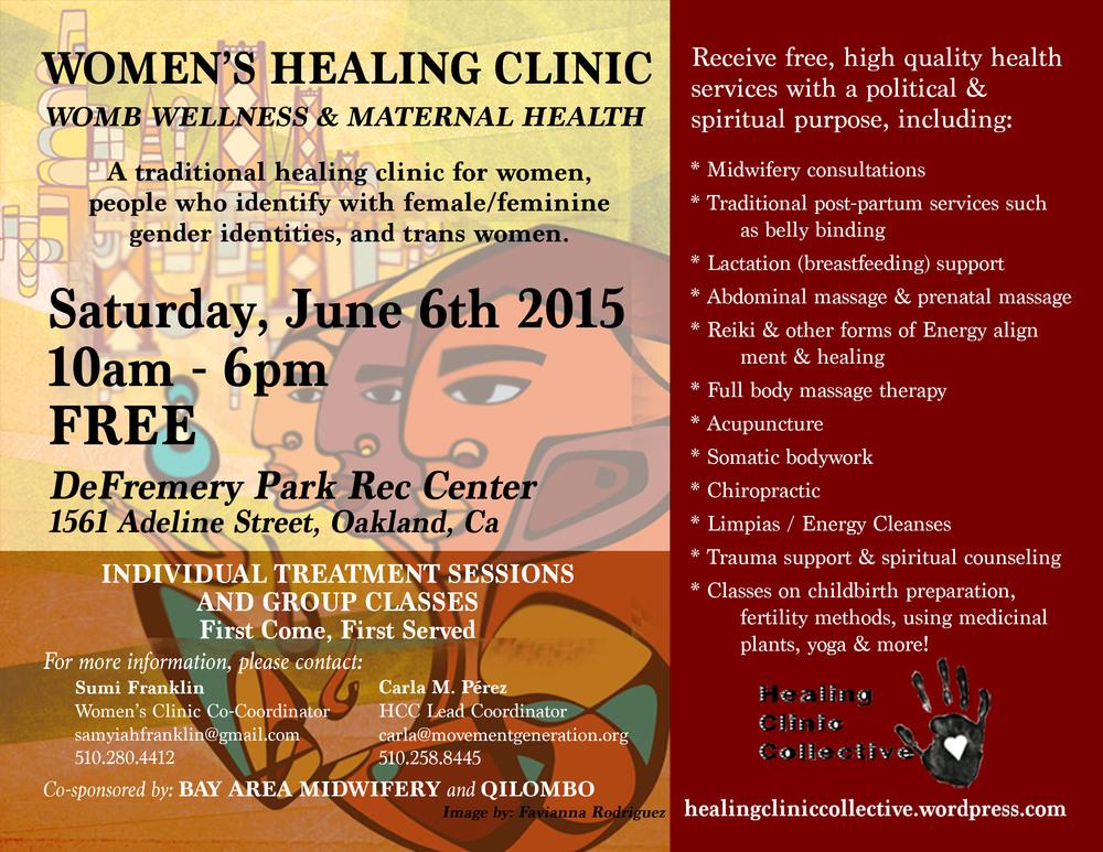 WomensClinic2015_ENGPoster