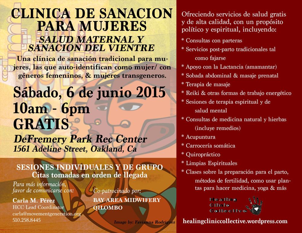 WomensClinic2015_SPANPoster