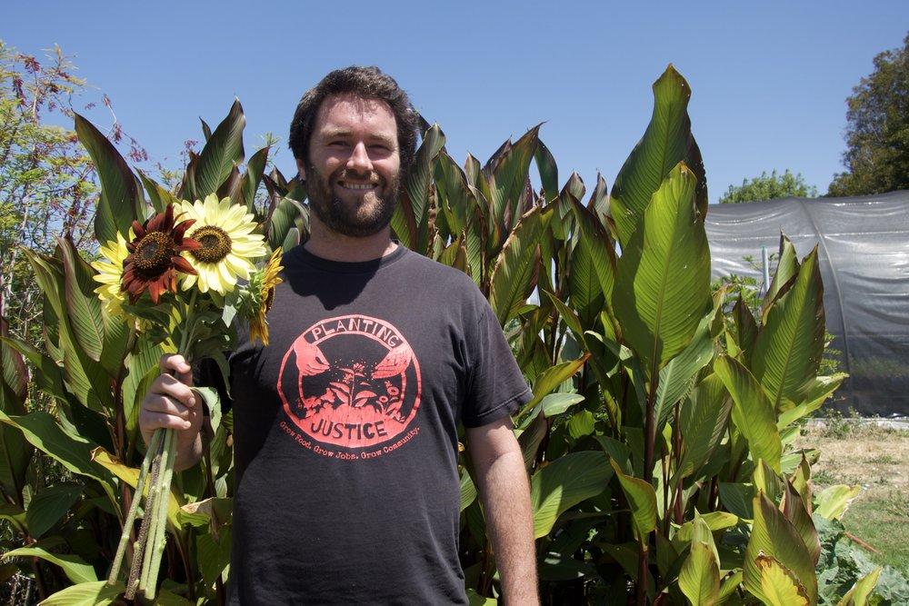 Planting Justice Board Member, Gavin