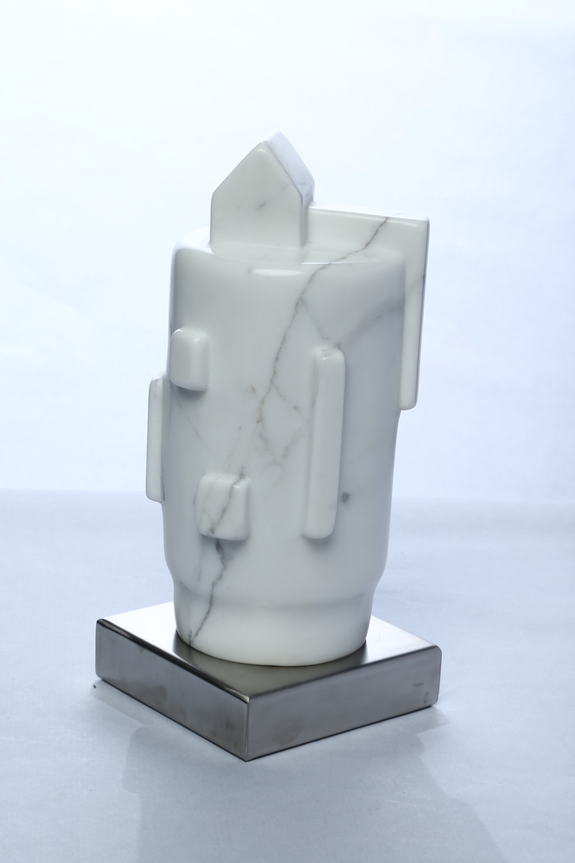 "My Home    Macael Marble  13½"" x 6"" x 6"""