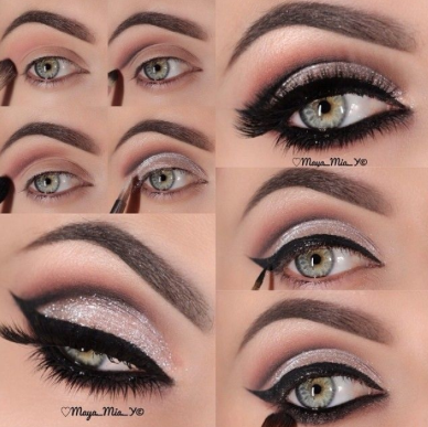 Beautiful cat eyes for new years eve….