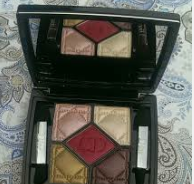 "Dior quad…..what to do with ""funky"" colors"