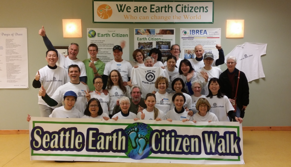 We are all citizens of the earth!