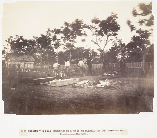 Burying the Dead, Fredericksburgh, Virginia