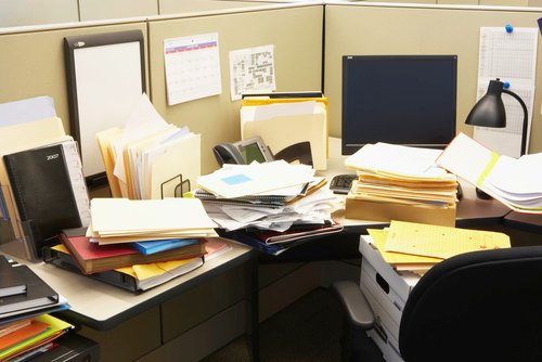 - If your desk looks like this