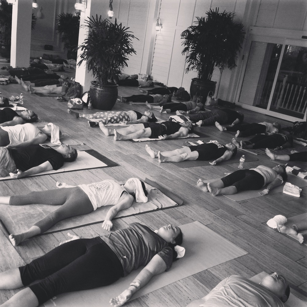 yoga savasana
