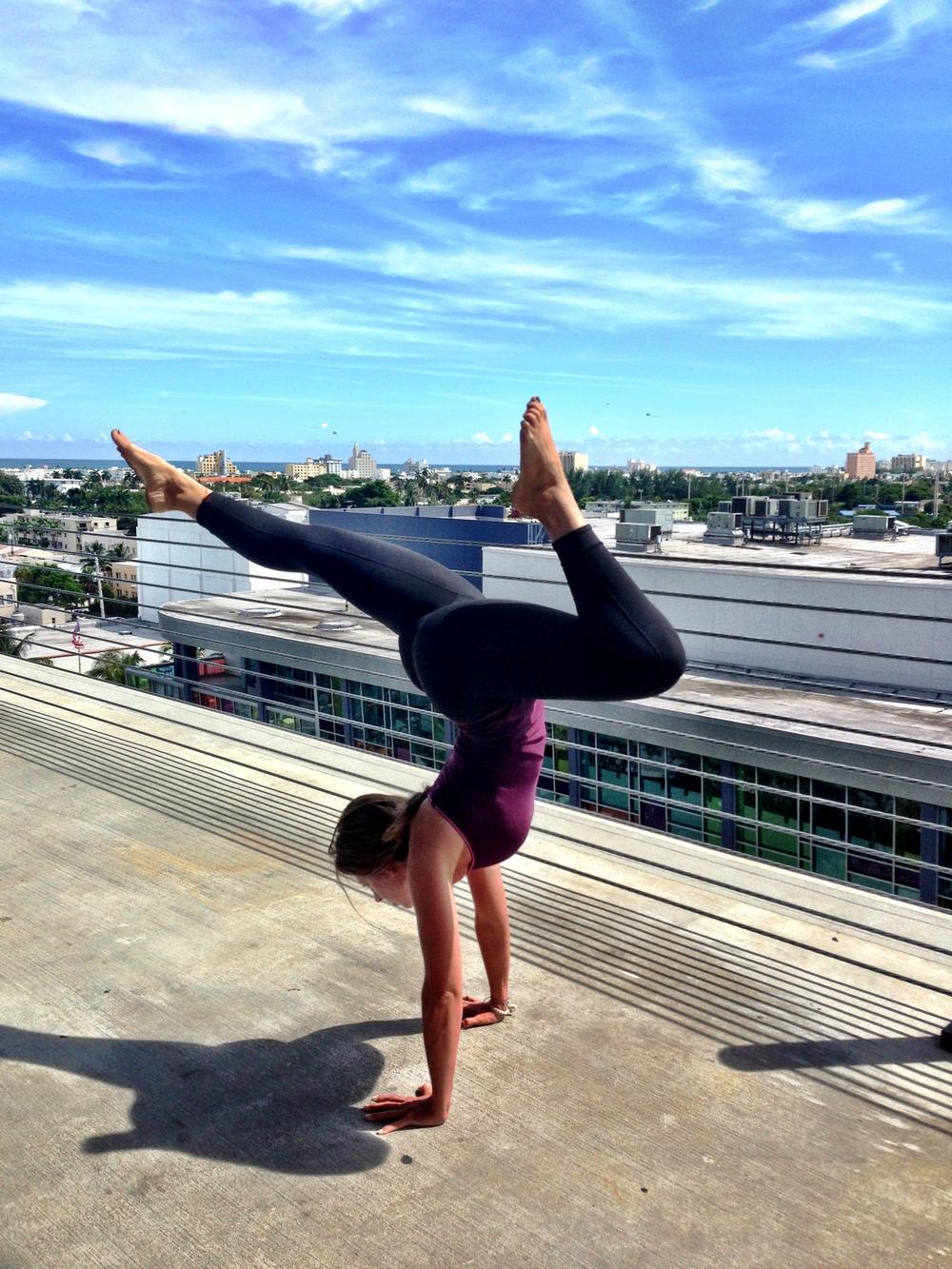 handstand miami yoga