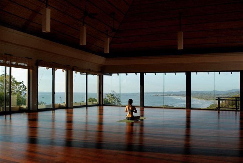 this is the yoga room!!!