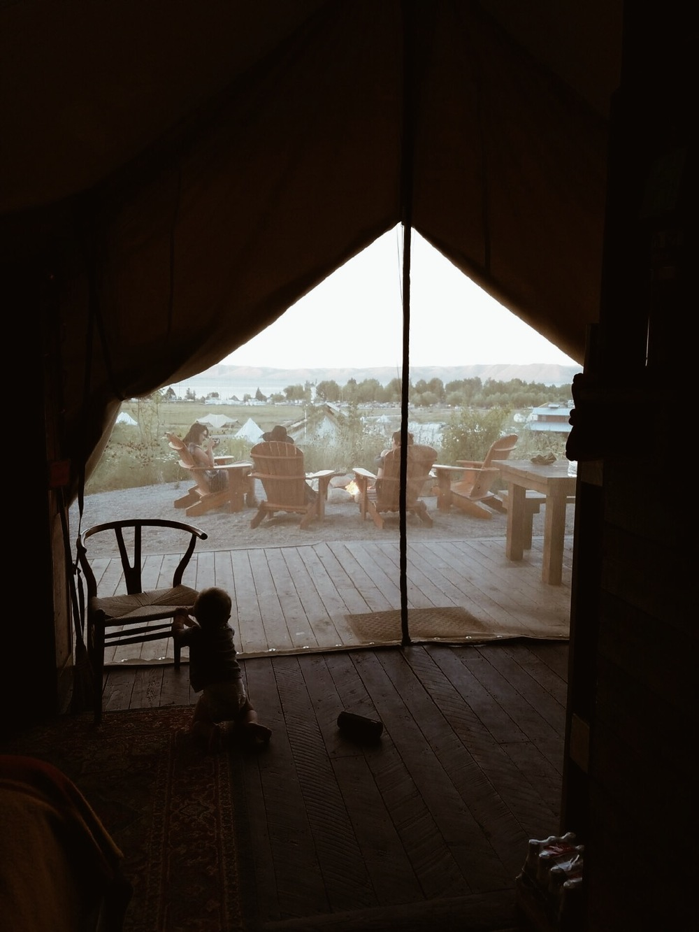 Yellowstone-glamping-tent-at-Conestoga-Ranch-Bear-Lake-Utah