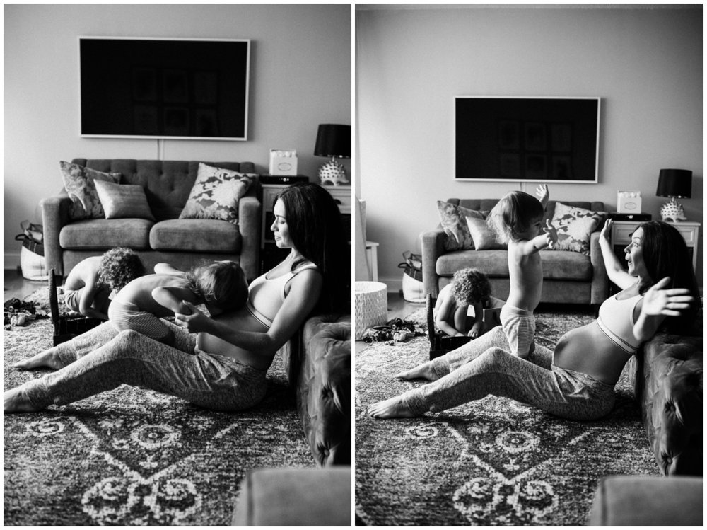 Maternity session at home with Bethany Ciotola and her boys in New York City_0005.jpg